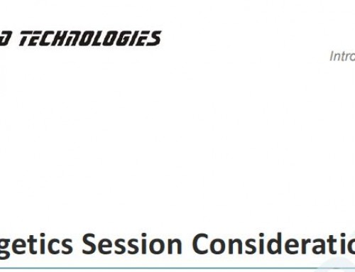 Bioenergetics Session Considerations