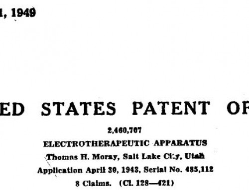 Moray Patent US2460707