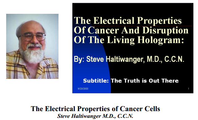 The Electrical Properties of Cancer Cells