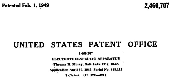 Moray Patent US2460707